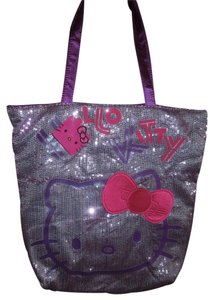 Hello Kitty Tote in Purple