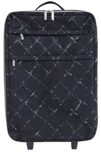 Chanel Pegase Rolling Suitcase Graffiti Travel Bag