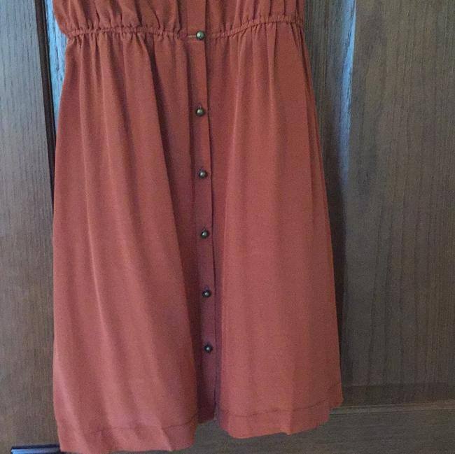 Pink Martini short dress Rust on Tradesy