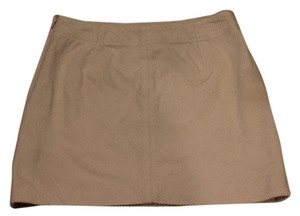Banana Republic Mini Mini Skirt off white corduroy