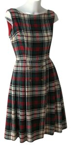Ilene Ricky Vintage Tartan Dress