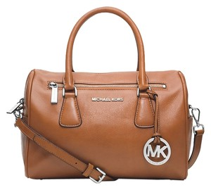 Michael Kors Satchel in Brown ( Cedar )