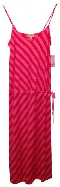 Ella Moss short dress pink stripe Sundress Iconic Summer on Tradesy