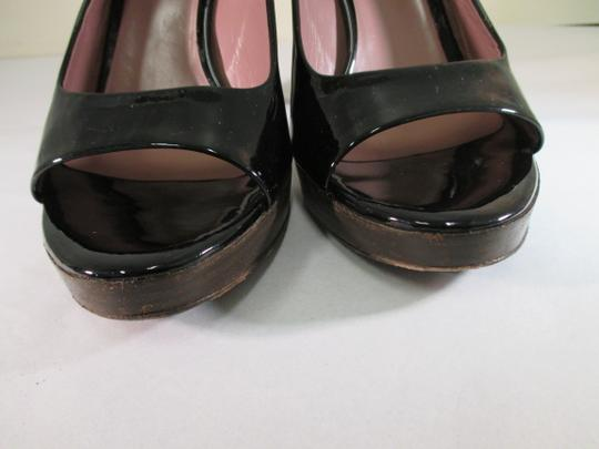 Miu Miu Black Platforms