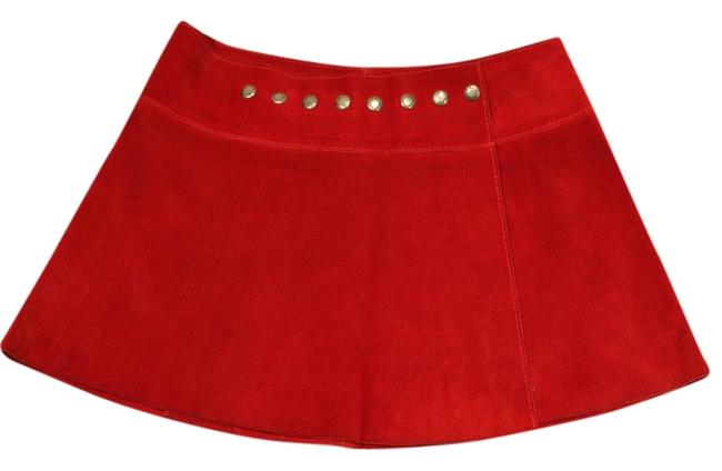 Preload https://img-static.tradesy.com/item/4172077/red-suede-little-miniskirt-size-2-xs-26-0-0-650-650.jpg