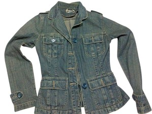Plugg Comfortable Cotton Polyester jeans Womens Jean Jacket