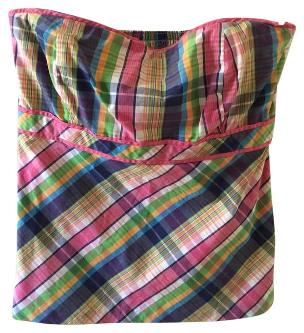Preload https://img-static.tradesy.com/item/4172305/lilly-pulitzer-multi-plaid-pulitzercollection-halter-top-size-8-m-0-0-650-650.jpg