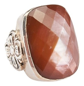 Stephen Yearick Stephen Dweck Smokey Quarts Ring, Size 6.5 (4849)