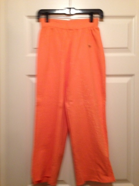 Primp Sweatpants Lounge Cropped Skateboard Athletic Pants cantaloupe orange