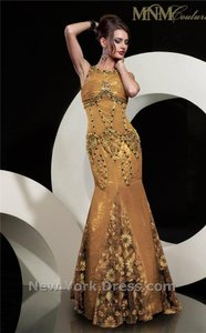 MM Couture Gold 5666 Dress