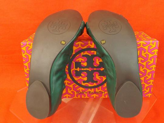 Tory Burch New Malachite Flats