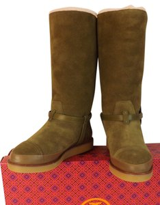 Tory Burch Otter Green Boots