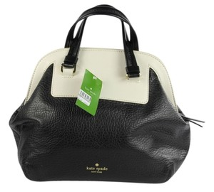 Kate Spade Tote in Black/Bone