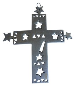 Other Cross Metal Star Design Large
