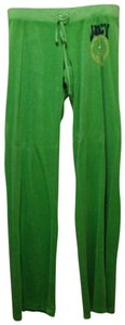 Juicy Couture Terry Lounge Athletic Pants green