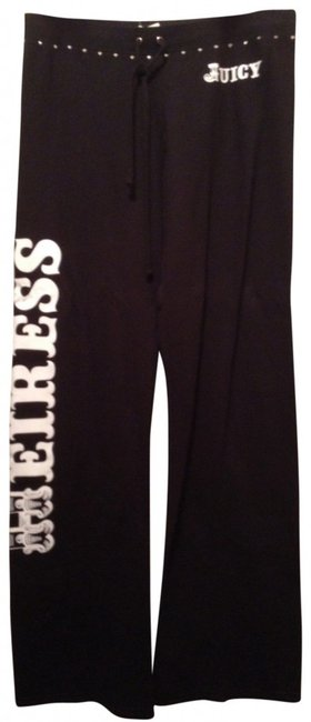 Juicy Couture Sweatpants Heiress Athletic Pants black