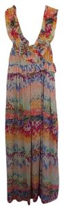 Multi-colored floral Maxi Dress by H&M Maxi Flowy Boho
