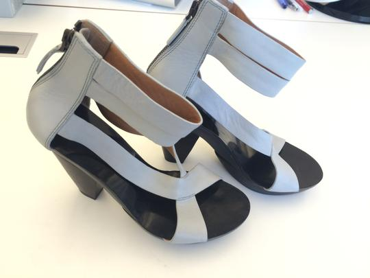Givenchy Grey Platforms
