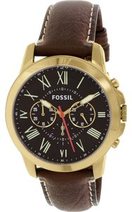 Fossil Fossil Men's Gold Analog Watch FS5062