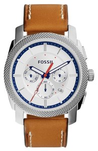 Fossil Fossil Men's Sillver Analog Watch FS5063