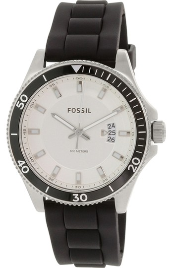 Fossil Fossil Men's Silver Analog Watch FS5070