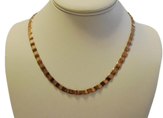 Technibond Technibond Rose Gold Plated 18 Inch Necklace