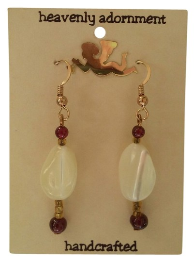 Preload https://item3.tradesy.com/images/red-white-and-gold-handmade-beaded-french-hook-dangle-drop-earrings-4173922-0-0.jpg?width=440&height=440
