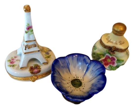 Limoges Authentic Porcelain Limoge Keepsake Boxes