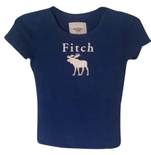 Abercrombie fitch t shirt blue 67 off retail for Abercrombie and fitch t shirts online shopping