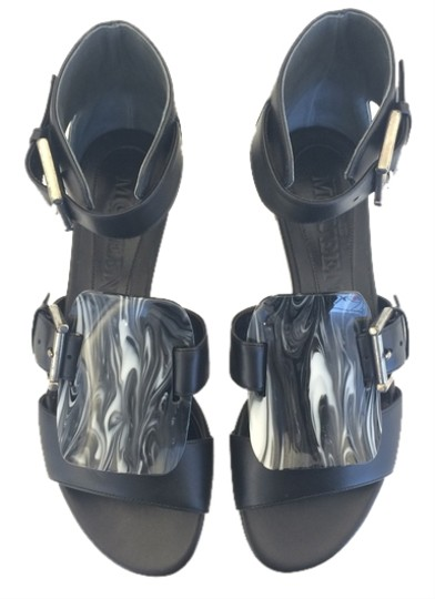Preload https://item2.tradesy.com/images/alexander-mcqueen-blackwhite-embellished-leather-sandals-size-us-6-4174111-0-0.jpg?width=440&height=440