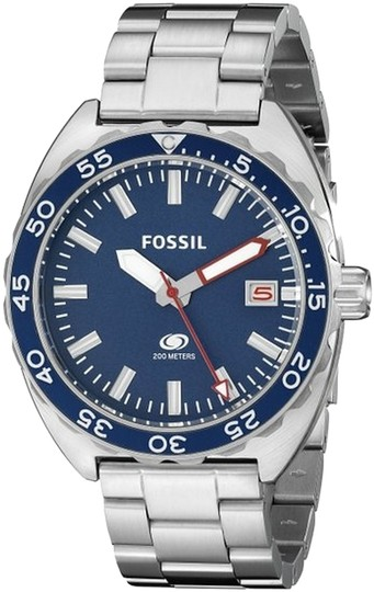 Fossil Fossil Men's Silver Analog Watch FS5048