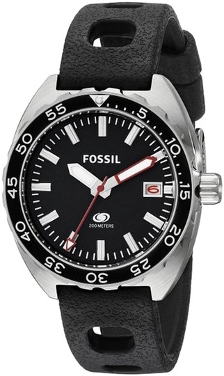 Fossil Fossil Men's Silver Analog Watch FS5053