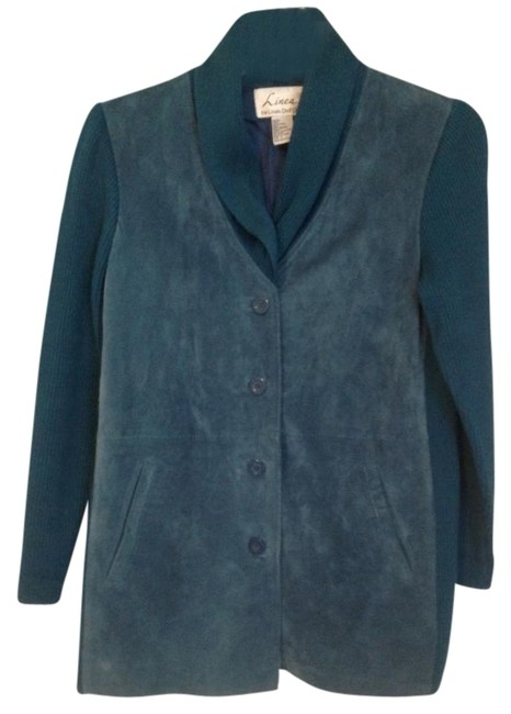 Preload https://item5.tradesy.com/images/louis-dell-olio-deepteal-suede-sweater-size-6-s-417469-0-0.jpg?width=400&height=650