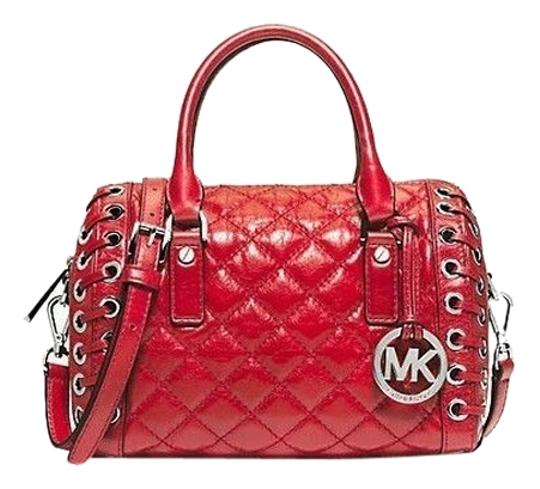 Preload https://item4.tradesy.com/images/michael-kors-sophie-small-red-quilted-leather-satchel-4175263-0-0.jpg?width=440&height=440