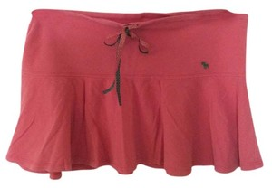 Abercrombie & Fitch Fun Mini Comfortable Skirt Pink