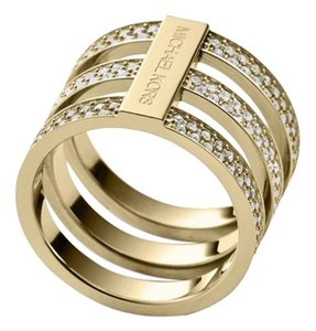 Michael Kors 10% OFF-SET-Listing Pave Tri-Stack Ring 7 or 8 & Crystal Bangle