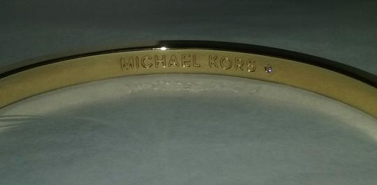 Michael Kors 2 pieces-w/BONUS Pave Tri-Stack Ring 7 or 8 & Crystal Bangle