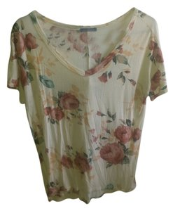 Sweet Claire Casual T Shirt Floral