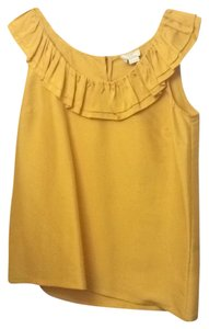 Kate Spade Top Golden Rod/ Yellow