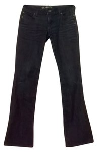 Express Vintage Boot Cut Jeans-Dark Rinse