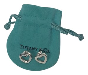 Tiffany & Co. Tiffany &Co. Stud Heart Earrings