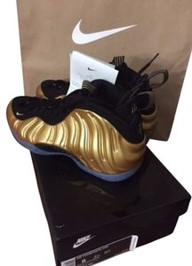 Nike Foamposite Gold Athletic