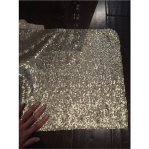 Gold Champagne Gold/Champagne Table Runner 102 Inches Tablecloth