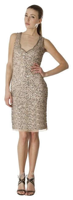 Preload https://item4.tradesy.com/images/js-collections-beige-illusion-sequin-shift-knee-length-cocktail-dress-size-6-s-4177153-0-2.jpg?width=400&height=650