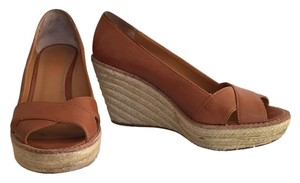 Michael Kors Espadrille Tan Wedges