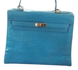The Find Satchel in Turquoise