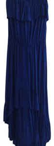 royal blue Maxi Dress by Anthropologie