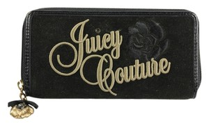 Juicy Couture Juicy Couture Zip Around Wallet - Black