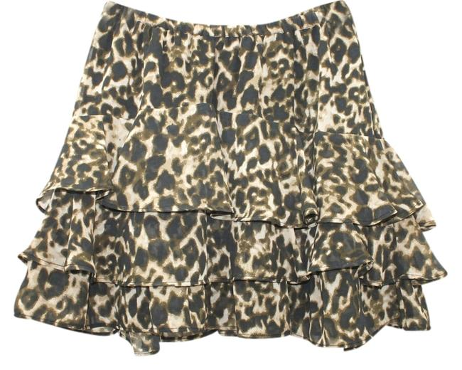CONVERSE ON STAR Animal Print Skirt