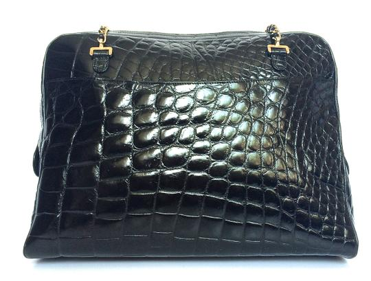 Chanel Vintage Alligagtor Crocodile Shoulder Bag
